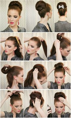 The Party Bun Hairstyle Tutorial | | Page 2