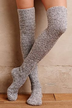 b66ac93e60b9 Slouched Over-The-Knee Socks