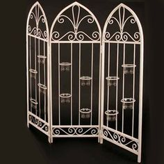 Candle Holder Room Divider o2 Pilates