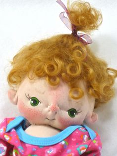 Camila a One of a Kind Soft Sculpture Baby by bebebabiesmexico, $125.00
