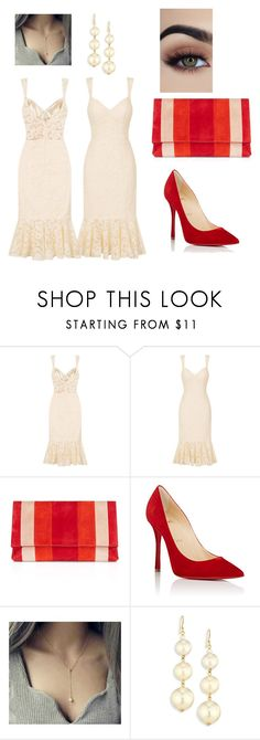 """Day after wedding day 4"" by rach1911 on Polyvore featuring Karen Millen, Christian Louboutin and Kenneth Jay Lane"