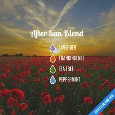 After Sun Blend - Essential Oil Diffuser Blend