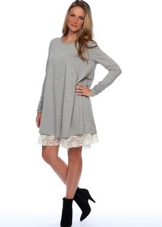 Long Sleeve Holiday Dress---pair it with your favorite legging and boot!