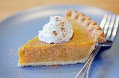 Coconut pumpkin pie recipe #dessert #Thanksgiving #coconut #pumpkin #pie