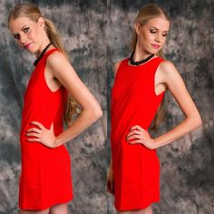 Sugar Lips NWT red dress Red shift dress sugar lips NWT   Zippered back.  100% Poleyester Available in all sizes. Several in stock message me to create your own listing SugarLips Dresses