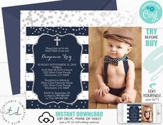 Christening Invitations, Baptism Invitations, St Peter And Paul, Boy Photos, Web Browser, Party Printables, Step By Step Instructions, As You Like, Drake