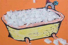 Knutselen Bas in de badkamer Bad tekening en propjes crêpepapier. Water Theme Preschool, Toddler Crafts, Crafts For Kids, Hygiene, Bath Time, Craft Activities, Manners, Art For Kids, Techno