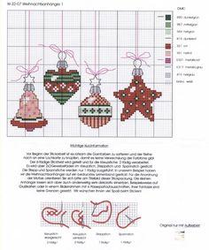 ru / Foto # 5 - New coisas Lulu - Los-ku-tik Xmas Cross Stitch, Cross Stitch Christmas Ornaments, Cross Stitch Needles, Cross Stitch Cards, Christmas Embroidery, Noel Christmas, Cross Stitching, Cross Stitch Embroidery, Christmas Baubles