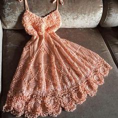 Most Popular Crochet Baby Dress Summer Tank Tops Ideas Easy Crochet Hat, Diy Crafts Crochet, Crochet Lace, Crochet Tank Tops, Crochet Skirts, Crochet Clothes, Pink Evening Dress, Popular Crochet, Dress Patterns