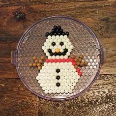 Beados snowman