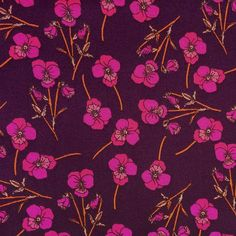 Liberty of London Tana Lawn: Ros Purple (N)