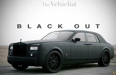 Rolls Royce Blacked out that's my favorite Rolls Royce EVER!!!!!!