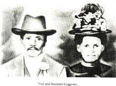 Edward Ned Leggroan 1840-1926 born and reared in bondage, he lived to become not only a highly respected citizen but a voter and land owner as well. Ned and Suzanne came to Milo from Utah sometime in the 1880's.  Ned was a colored man and there were few of his race who made their home here at the time.  Suzanne Leggroan 1852-1928 She was born in Mississippi and married Ned right after the close of the Civil War. they had nine children.