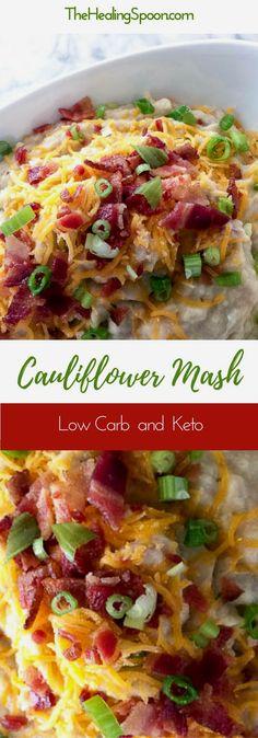 Easy side dish - Low Carb, Keto with Dairy Free option #ketorecipe #cauliflower https://www.pinterest.com/pin/330733166377049921/