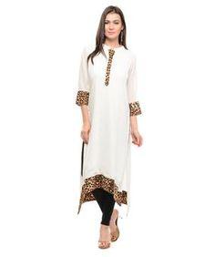 Buy Designer Kurtis Online at low prices in India. Shop for long & short, cotton, designers, printed Kurtis at www.vandycrafts.com Kurtis store.
