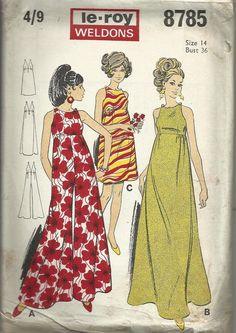 Vintage Sewing Pattern. Le Roy Weldons by IsellVintagePatterns