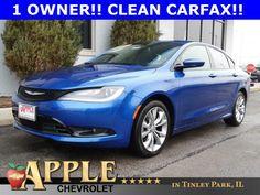 2015 Chrysler 200 S - SOLD - http://www.applechevy.com