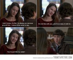 Sister-zoned…