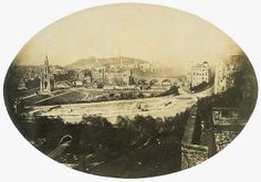 Edinburgh from the Castle, c.1850