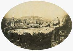 Edinburgh from the Castle, c.1850