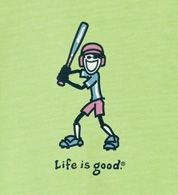 I can't hit a ball worth a darn, but I am determined to conquer and overcome this SUMMER!  It's never to late to try...