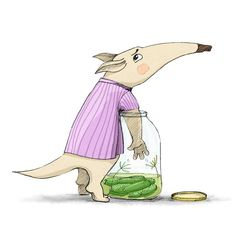The Little Anteater and his small problem