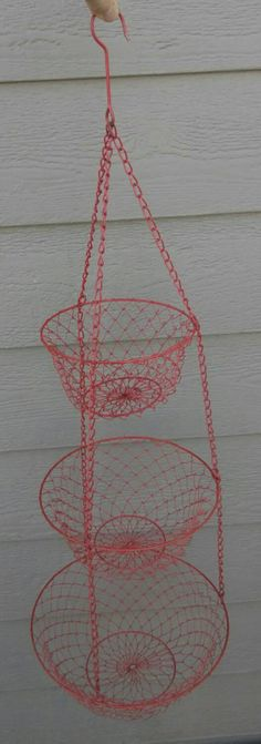 Check out this item in my Etsy shop https://www.etsy.com/listing/248493840/awesomely-retro-red-3-tier-hanging