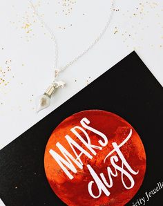 The Martian Mars Dust Necklace