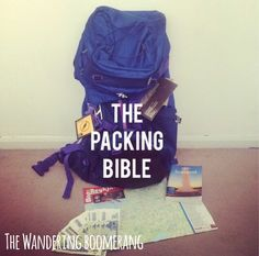 Here's some things I've learnt over the years about backpacking, and packingyour backpack/suitcase. A must read for first time backpackers/travellers. Know your own strength Recommended backpack f...