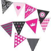 Complete your Rock Princess party with our matching flag bunting. Available at www.lovetheoccasion.com.au