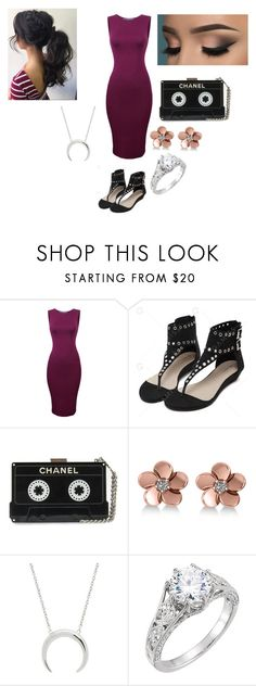 """""""Oh this isn't casual dating if we dress fancy."""" by kayla-ann-ryan ❤ liked on Polyvore featuring Allurez"""
