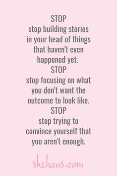 """""""Stop trying to convince yourself that you aren't enough"""" Self Love Quotes, Happy Quotes, True Quotes, Quotes To Live By, Motivational Quotes, Funny Quotes, Inspirational Quotes, Happiness Quotes, Smile Quotes"""