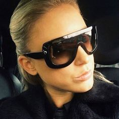 Barato AFOOF Novo Oversize Óculos de Sol Da Moda Óculos De Sol Das Mulheres  Do… 337c6f15b6