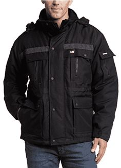 online shopping for Caterpillar Men's Heavy Insulated Parka from top store. See new offer for Caterpillar Men's Heavy Insulated Parka Mens Winter Parka, Mens Parka Jacket, Parka Coat, Rain Jacket, Winter Jackets, Parka Jackets, Men's Jacket, Camping Outfits, Camping Clothing