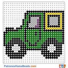 Automovil plantillas hama beads web 959a7