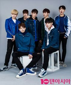 Victon ~ At first everyone looks normal but then if you look close there're all derps