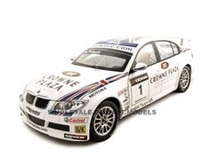 BMW 320Si Andy Priaulx #1 1/18 Diecast Car Model by Guiloy   Car Intensity