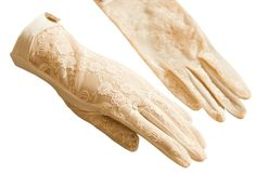 Urban CoCo Vintage Spring and Summer Women's Lace Cotton Short Gloves (Beige-model Size:Length inch, width 3 inch, hand girth at metacarpale inch) Lace Gloves, Vintage Gloves, Vintage Lace, Vintage Style, 1920s Cocktail Dresses, Cotton Gloves, Bikini For Women, Ethnic Wear Designer