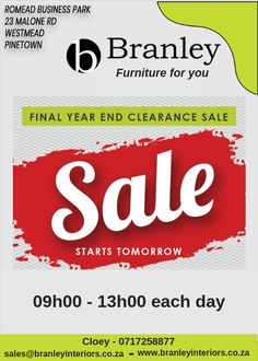 Wholesale furniture in Durban, South Africa. Branley offers quality and affordable leather and fabric couches, lounge suites, armchairs, ottomans and more. Furniture For You, Quality Furniture, Lounge Suites, Wholesale Furniture, Clearance Sale, Interiors, Interieur, Interior, Decor