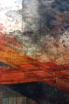 Mechanicsville for Gallery 1988 (LA)  Shortly before final washes  Jacob van Loon