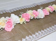 Garland Wedding GARLANDE decorations crepe paper paper