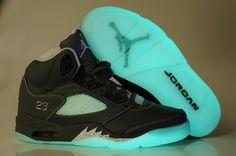 Discount Air Jordan 5 Shine Bottom Shoes Grey White-Free Shipping