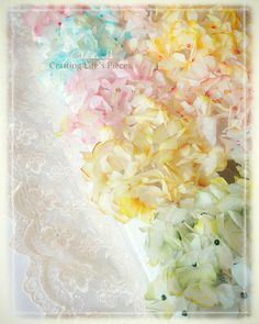 Hydrangea Tissue Paper Tutorial, Too good! high up on my To Do List!