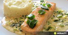 Ha abba a fajtába tartozol, aki szereti gyorsan lerendezni az ünnepi vacsora előkészületét, mégis különleges fogásra vágysz, akkor ezek a receptek neked szólnak. Chicken And Shrimp Recipes, Salmon Recipes, Fish Recipes, Healthy Food Options, Healthy Recipes, Healthy Cooking, Cooking Recipes, Food Porn, Good Food