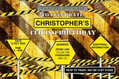 Celebrating your birthaay in ISO Quarantine? This Construction Birthday Party Invitation is the perfect for your ISO construction theme party. Create a fun and memorable birthday party with this perfect boys construction invitation design. Personalise it using the order form. Send it your way, print, online, text or instant message. You choose how to share it with your family and friends. Construction Invitations, Construction Birthday Parties, Online Text, It Works Products, Printable Invitation Templates, Boy Birthday Invitations, Birthday Dates, Road Rage, Order Form
