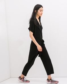 Image 3 of CROSSOVER JUMPSUIT from Zara