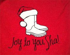 Joy to You Sha- Shrimp Boot