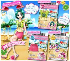 Doki Doki Anime, Glitter Force, Pretty Cure, Chara, Trading Cards, The Cure, Idol, Heaven, Dresses