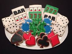 Casino Themed Cookies | Cookie Connection