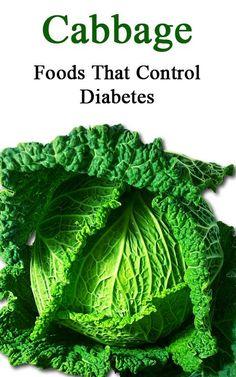 Foods That Control Diabetes